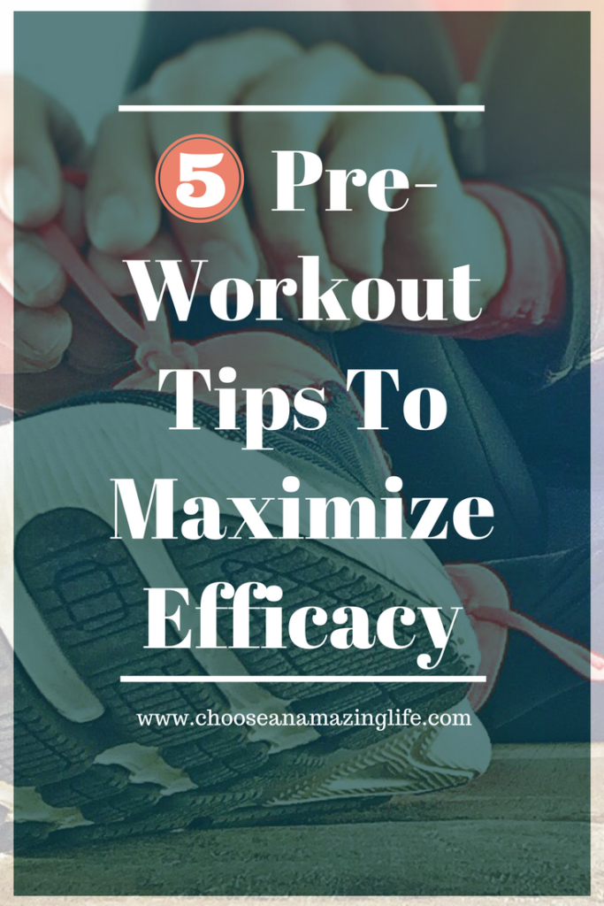 Are you taking the necessary steps before your workout to optimize results? What you do to prepare for your workouts can make or break the results you see from your workout. Follow these five pre-workout tips to skyrocket your results.