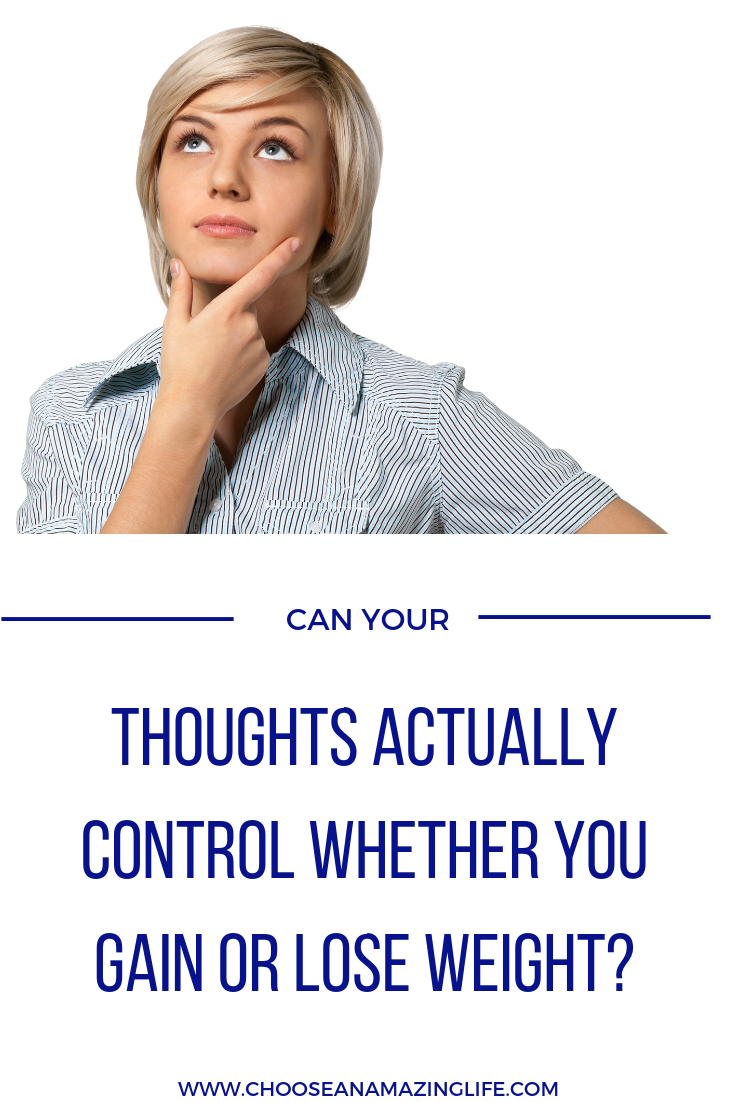 Your Thoughts Could be Keeping Your From Achieving Your Weight Loss Goals- Find out How Here....