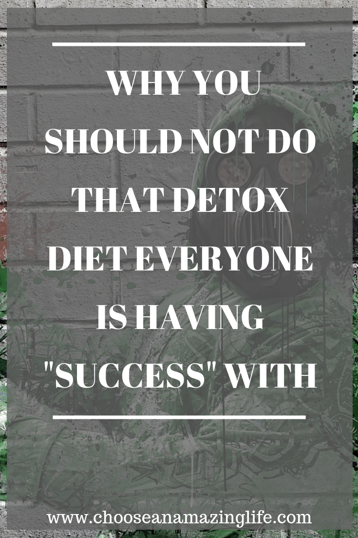 Detox diets are all the rage right now and many people are claiming success from them. However, are they really doing what people say they are doing? Read on to find out!