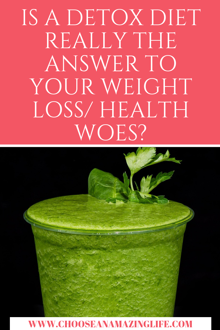 Will a detox diet be the answer that you are searching for when it come to your weight loss and health problems? We don't think so, and here's why...