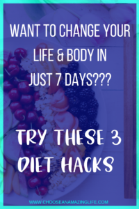 Adding these 3 things to your daily diet can drastically improve your health, weight loss, and life in as little as a week!