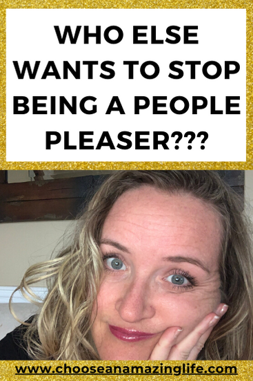 "Do you identify with the term ""people pleaser""? If so, I have been there, done that and grown free from it's powerful and paralyzing effects."